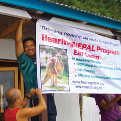 hearing nepal program