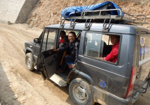 hearingnepal team safe transport