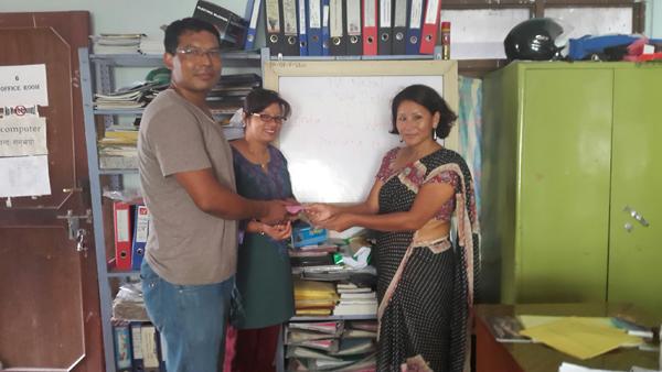 Donation to PA Nepal