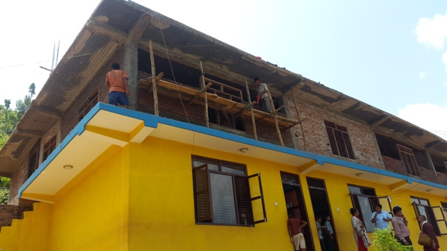 Rebuilding Dhading Deaf School