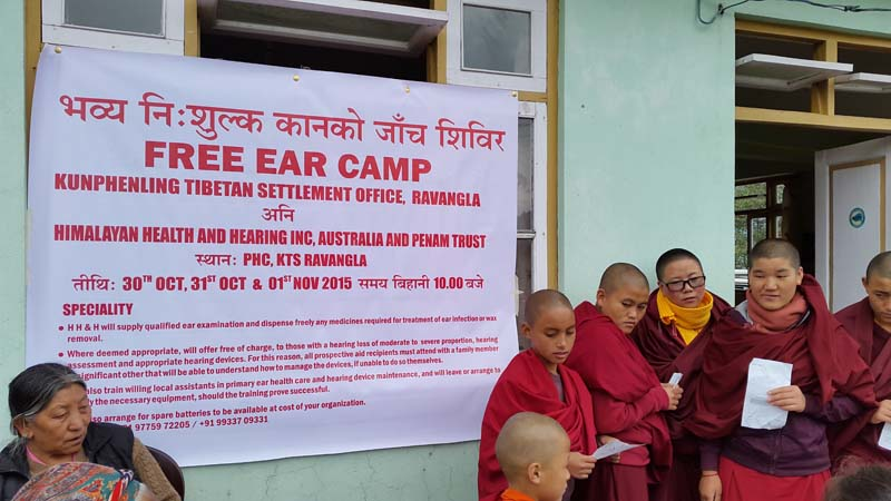 Ear Camp Ravongla