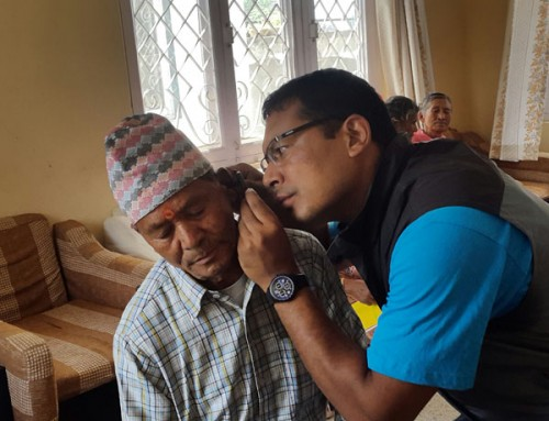 Hearing & Health camp Kirtipur Nunnery
